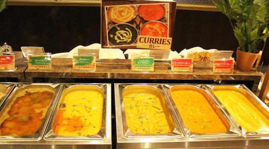 【昼食】本格派!南インドカレー