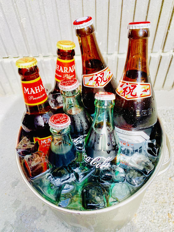 冷たい飲み物始めました。