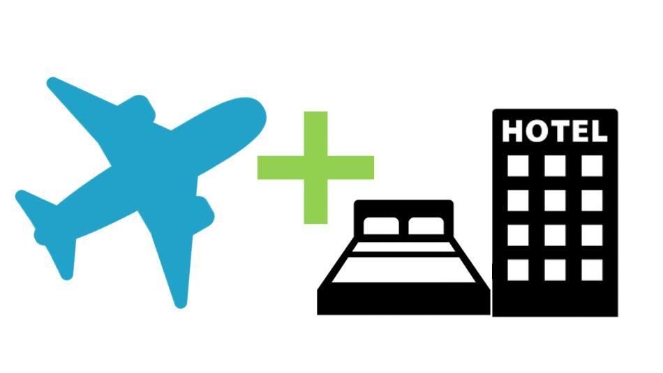 航空券+宿泊の商品販売開始しました♪