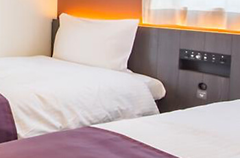 Bed with power outlet