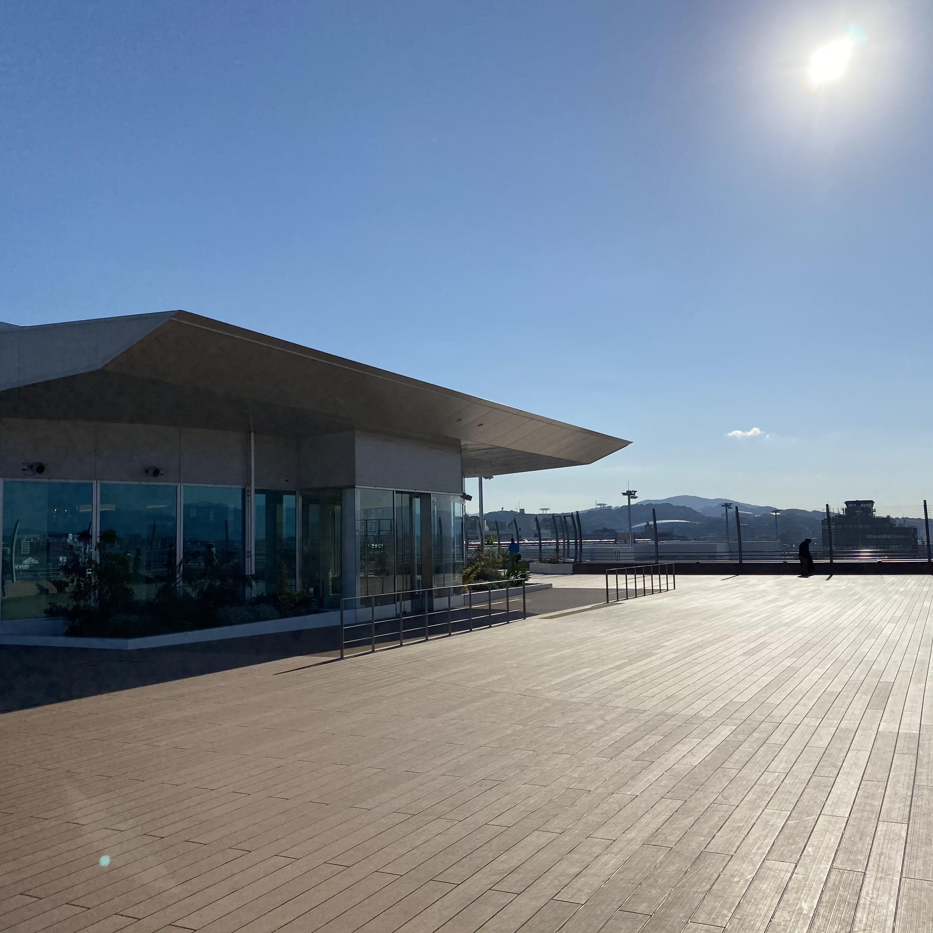 【観光情報】福岡空港 新展望台