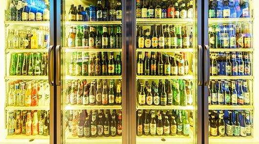200種類以上に上がる世界各国のビールを提供