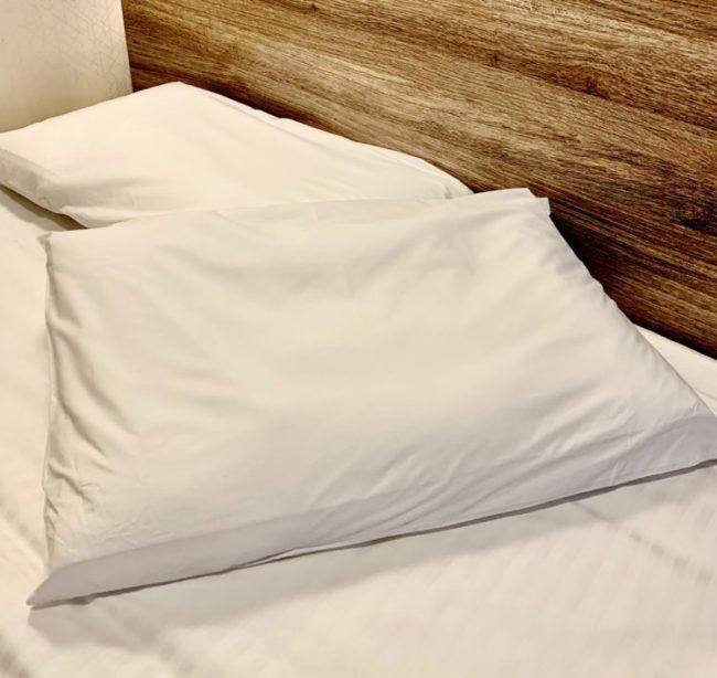 【ロフテー社枕 全室投入しました♪】