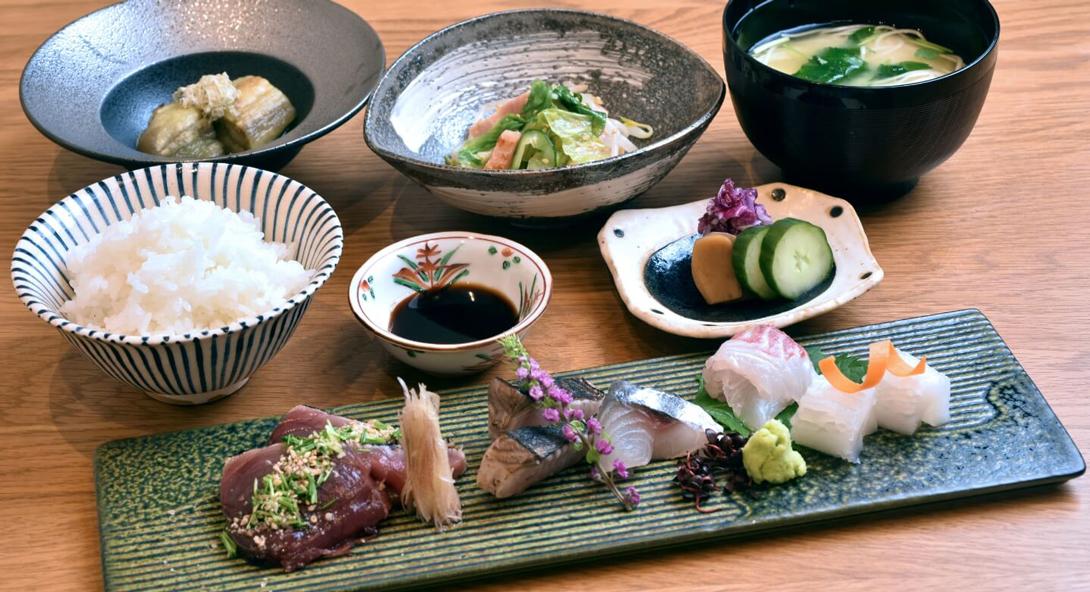 大阪湾で獲れた新鮮な魚介類