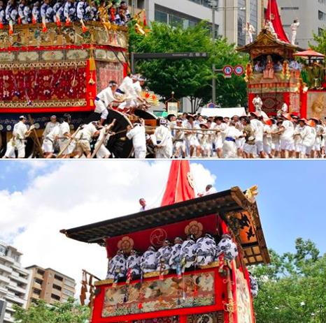 京都の夏!祇園祭り