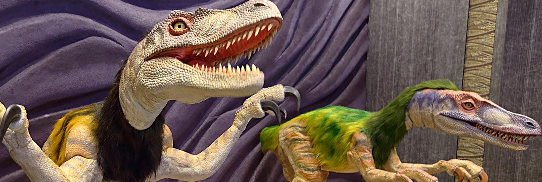 ロボットの世界へ肉食恐竜ヴェロキラプトル登場