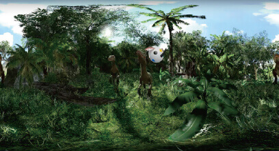 恐竜VRコンテンツ