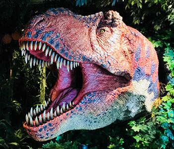 ティラノサウルス恐竜ロボット