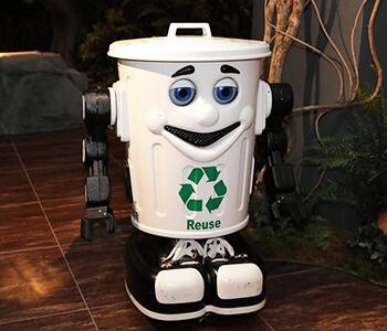 ゴミ箱ロボット