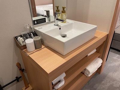 独立洗面台(スーペリアツインルーム/ツインエキストラルーム/フォースルーム)