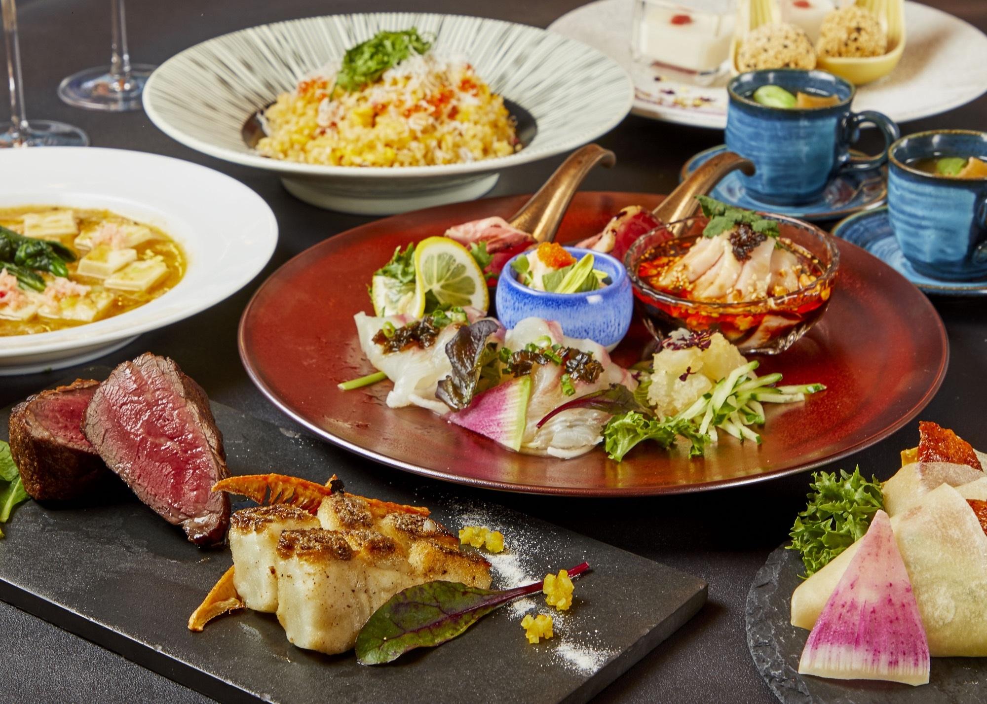 【期間限定】記念日におすすめ!2品の豪華メインがうれしい♪ディナー付きコース