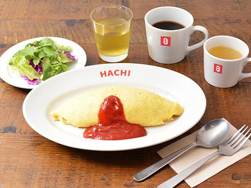オムライス朝食