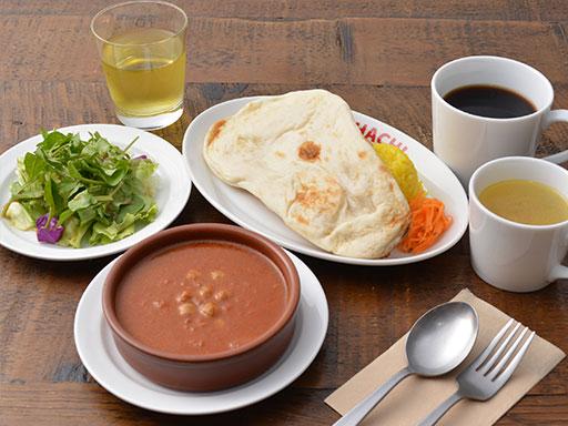 カリーライス(ナン付)朝食